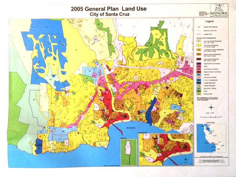 Santa Cruz Land Use Plan